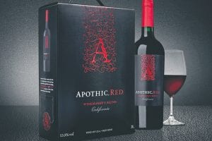 Apothic red winemaker's blend box