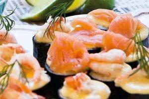 Läcker Bjud–sushi