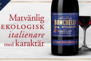 Bonchelli Rosso Eko – Ekologisk Nyhet Från Italien