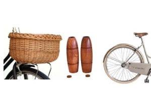 Vinnaren i cykeltävlingen med cono sur