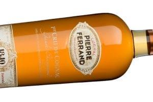 Cognac pierre ferrand, tredje mest sålda varumärket på världens topp 50 barer