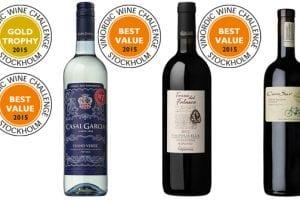 Sveriges mest prisvärda viner korade!