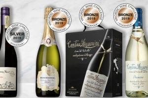 Medaljer I Vinordic Wine Challenge 2019