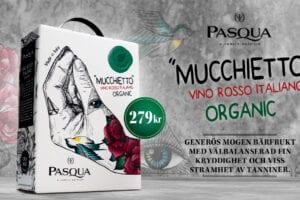 Pasqua Mucchietto-Vino Rosso Italiano Organic