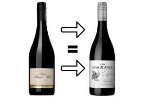 Pinot Noir Viña Laroche blir Cefiro Pinot Noir