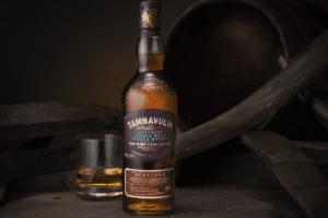 Tamnavulin Red Wine Cask Edition Pinot Noir - whisky lagrad på vinfat