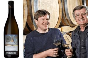 Tillfälligt släpp av Wohlmuth Ried Steinriegl Sauvignon Blanc