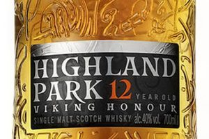 Highland Park 12 YO Malt Whisky