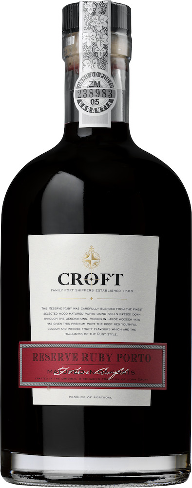 Croft Reserve Port Ruby 4 YO
