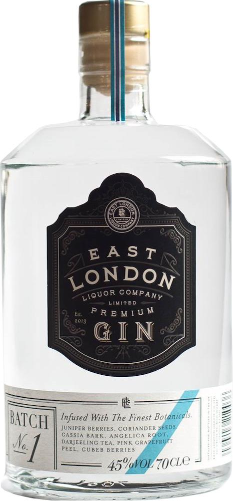 East London Premium Gin – Batch No.1