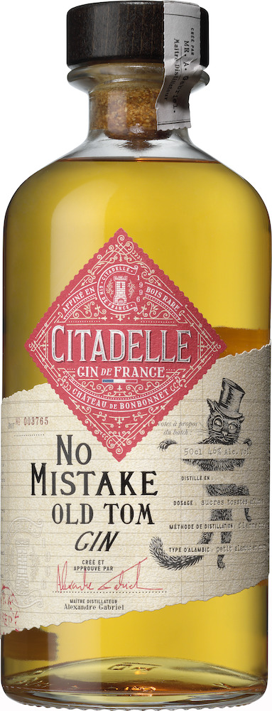 Citadelle Gin No Mistake Old Tom Gin