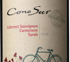 Cono Sur Cabernet Sauvignon Carmenère Syrah EKO