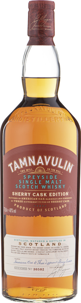 Tamnavulin Sherry Cask Speyside Single Malt