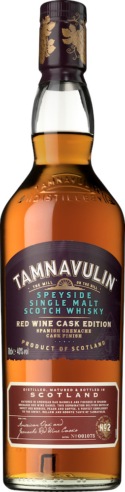 Tamnavulin Red Wine Cask Edition Grenache Single Malt