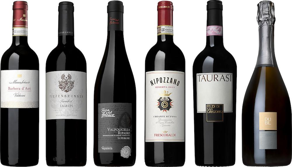 Spring Wine Vinlåda Italien mix 6pack 75cl engångsglas