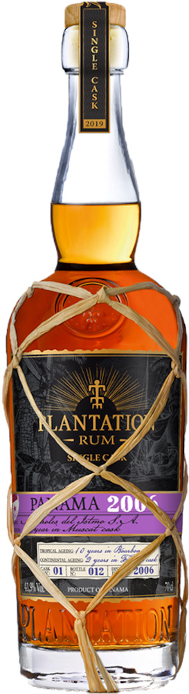 Plantation Single Cask Panama 2006 Muscat Cask 44,8% 70cl eg