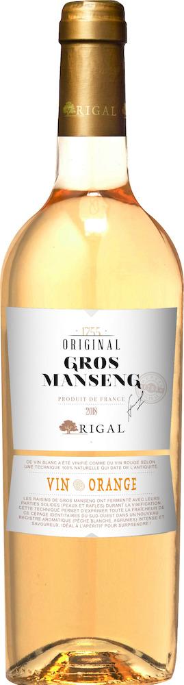 Original Gros Manseng Vin Orange