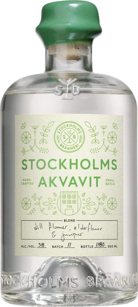 Stockholms Bränneri Akvavit Ekologisk